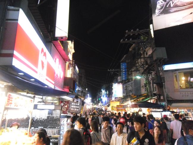 Les Night Market à Taiwan