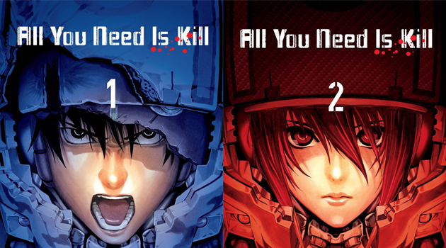 All you need is kill manga