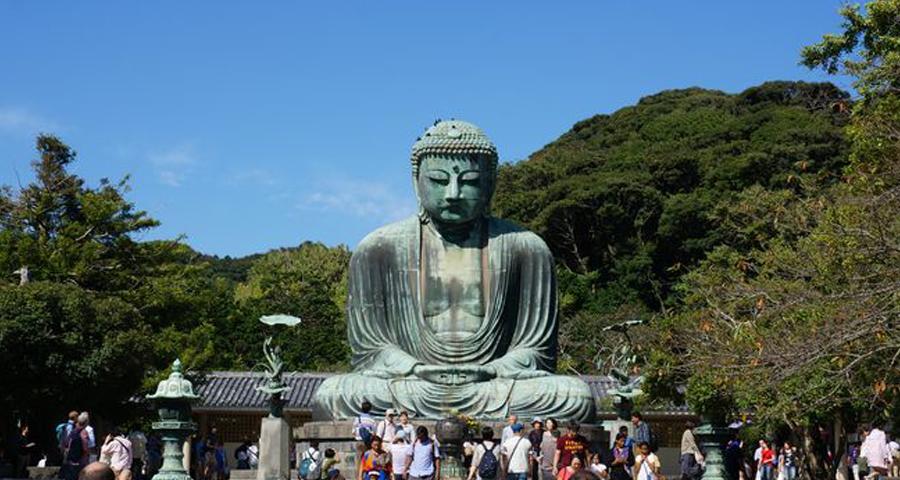 Voyage au Japon : Une matinée à Kamakura – Temples, Randonnée et Bouddha géant