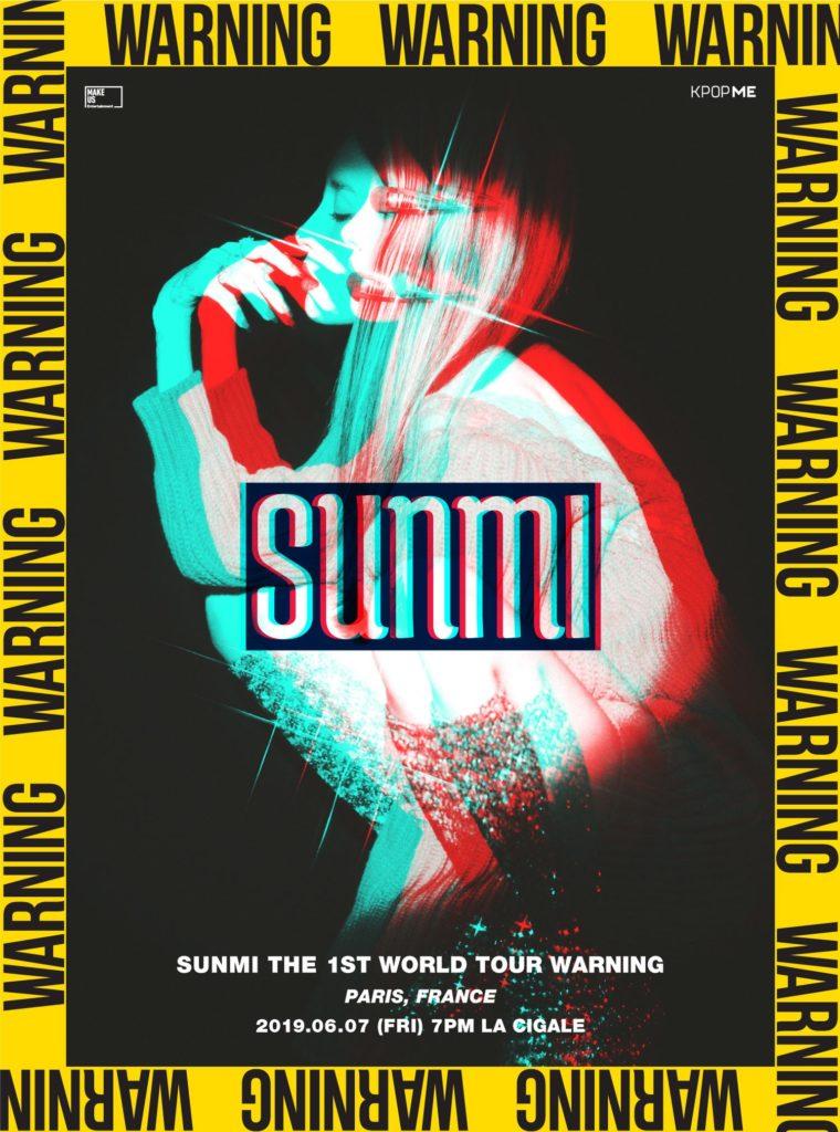 concert Sunmi