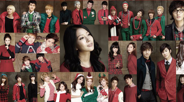 Les maisons de productions coréennes vous souhaitent un Joyeux Noël