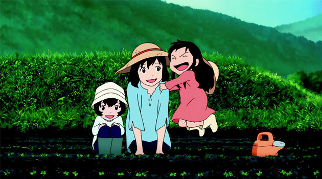 Film : Ame et Yuki, les enfants loups