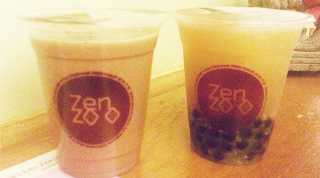Bubble Tea Zenzoo Chez Momo