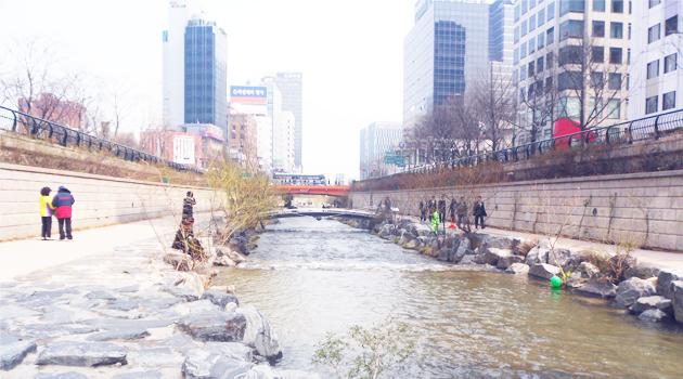 Seoul Cheonggyecheon