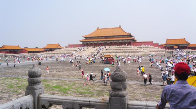 Voyage à Pékin – Jour 2 : Tian An Men, la Cité Interdite et le parc Beihai
