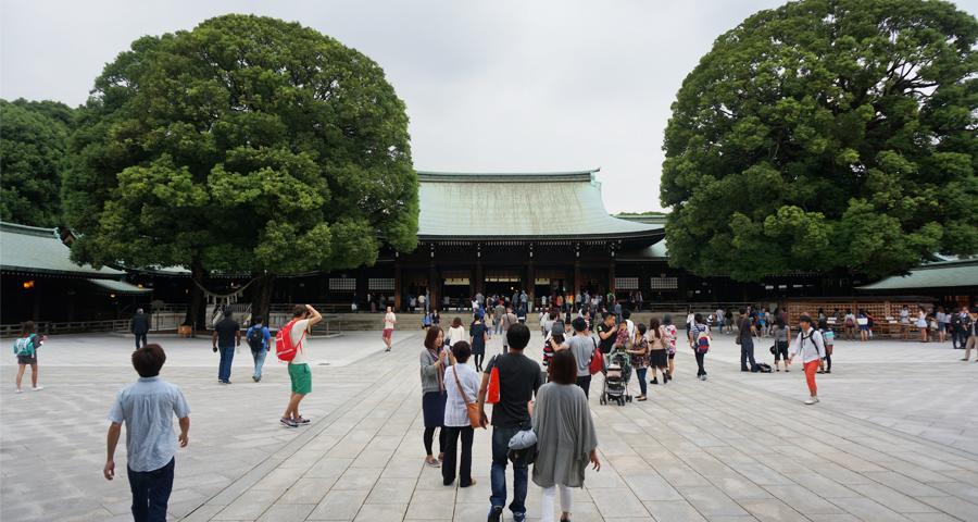Voyage au Japon – Le sanctuaire Meiji