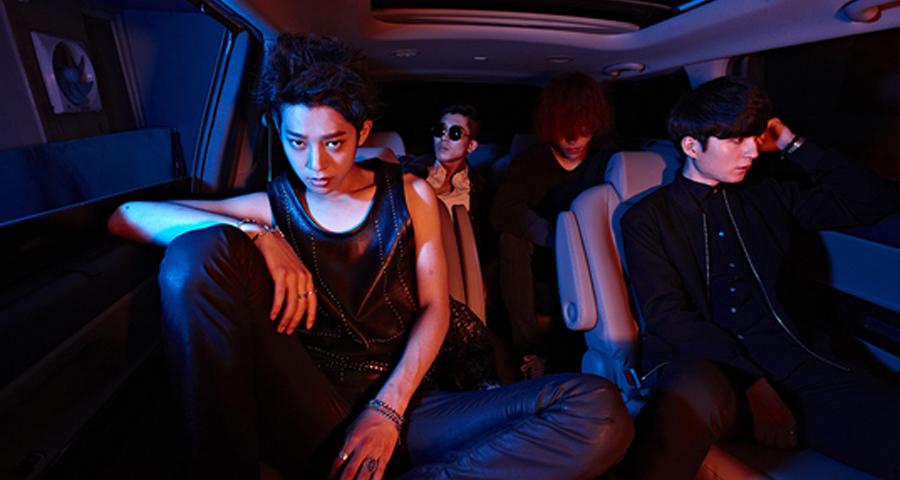 Concert – Drug Restaurant (avec Jung Joon Young qui boit beaucoup de coca)