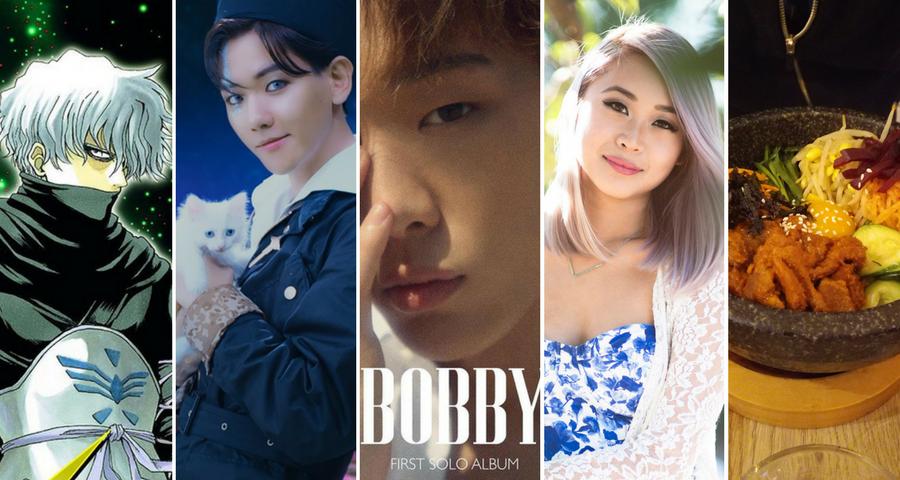 Favoris du mois de Septembre 2017 – Gintama, de la K-pop et du bibimbap