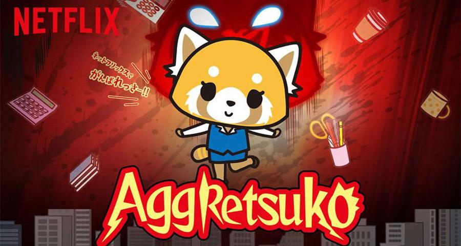 Aggretsuko – Quand le kawaii rencontre le death metal en dessin animé