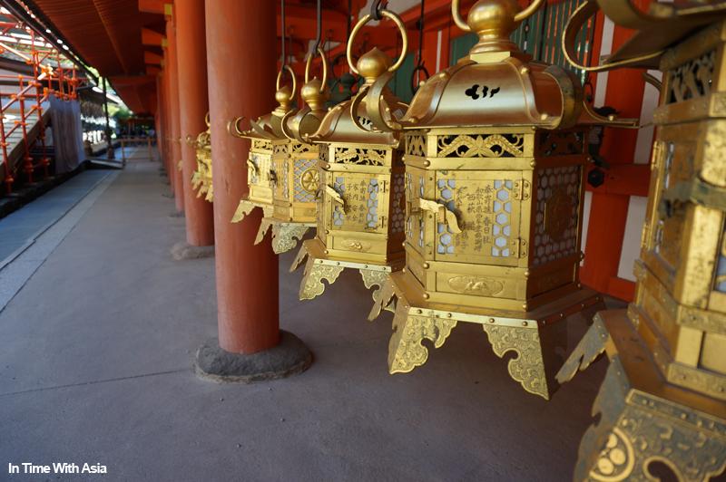 Nara lanternes